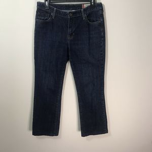 GAP CLASSIC STRETCH MID RISE SIZE 10 LONG JEANS